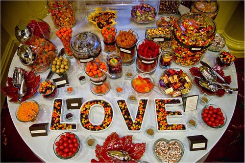 The Candy Bar: Trendy Wedding Treat, or Over-done Reception Cavity?